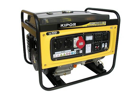 Бензиновый генератор Kipor KGE6500Е3