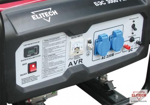 Бензиновый генератор Elitech 2