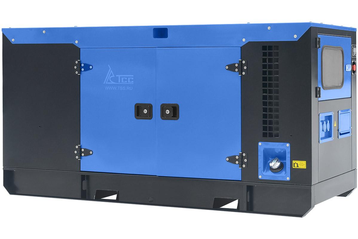 Дизельный генератор ТСС АД-25С-Т400-1РКМ7 в шумозащитном кожухе