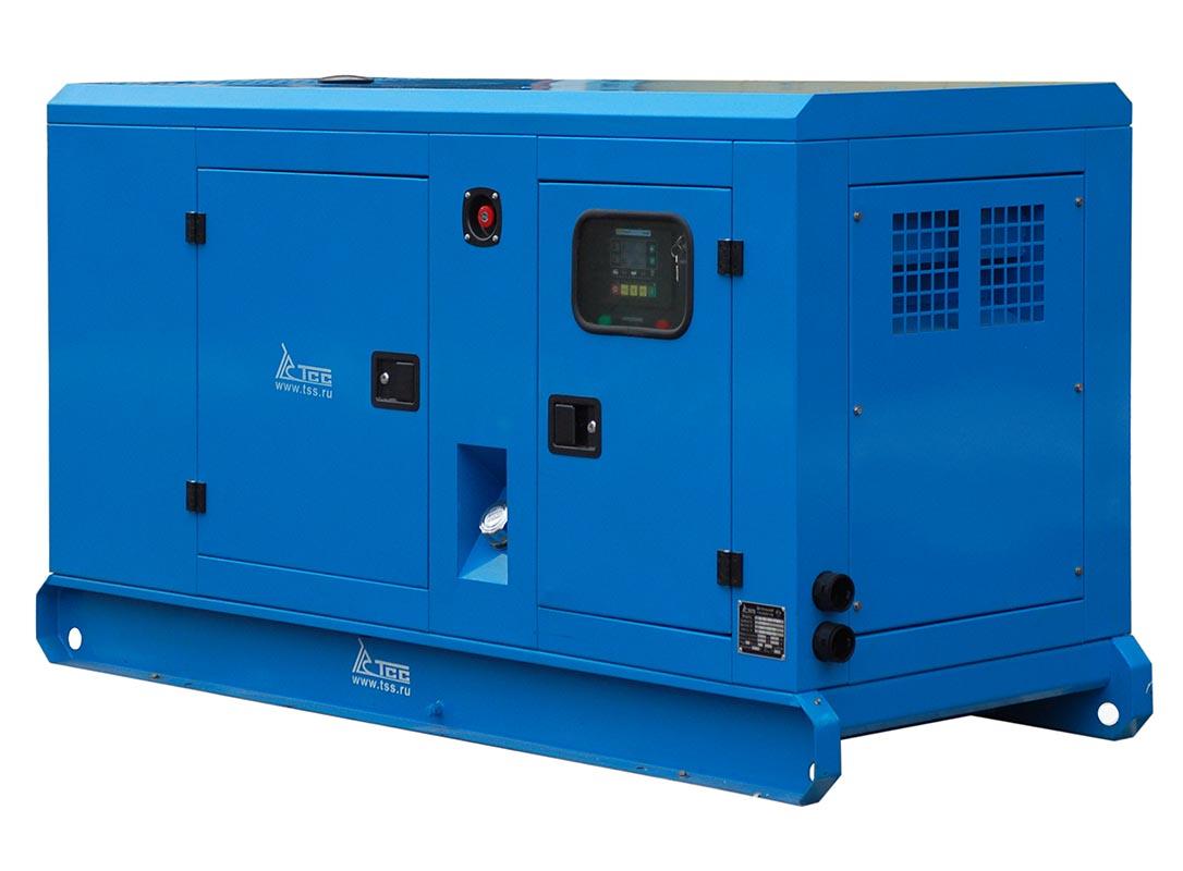 Дизельный генератор ТСС АД-90С-Т400-1РКМ19 в шумозащитном кожухе 2