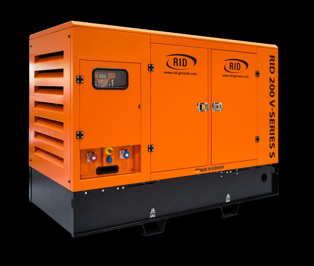 Дизельный генератор RID 200 V-SERIES S