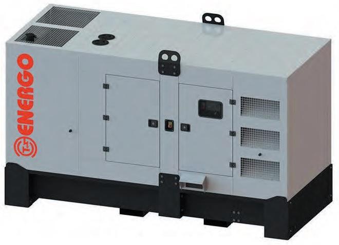 Дизельный генератор EDF 200/400 IV S