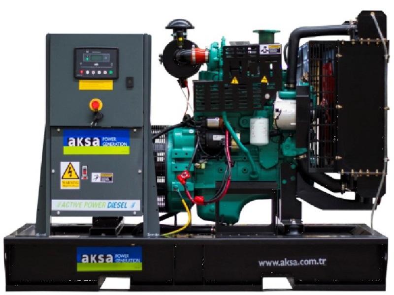 Дизельный генератор AKSA APD 66 C 2