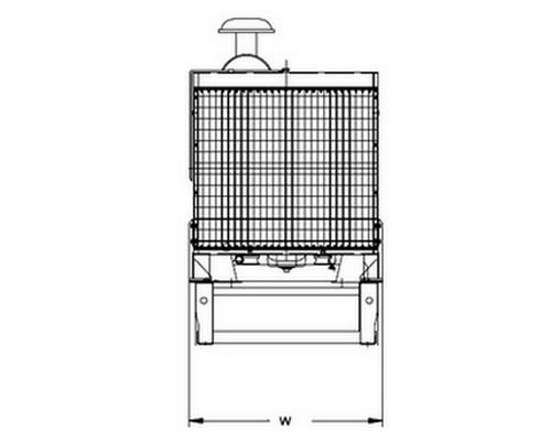 Дизельный генератор AKSA APD 50 А 4
