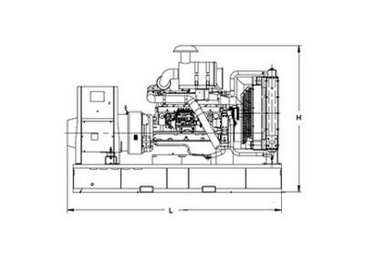 Дизельный генератор AKSA AJD 33 3