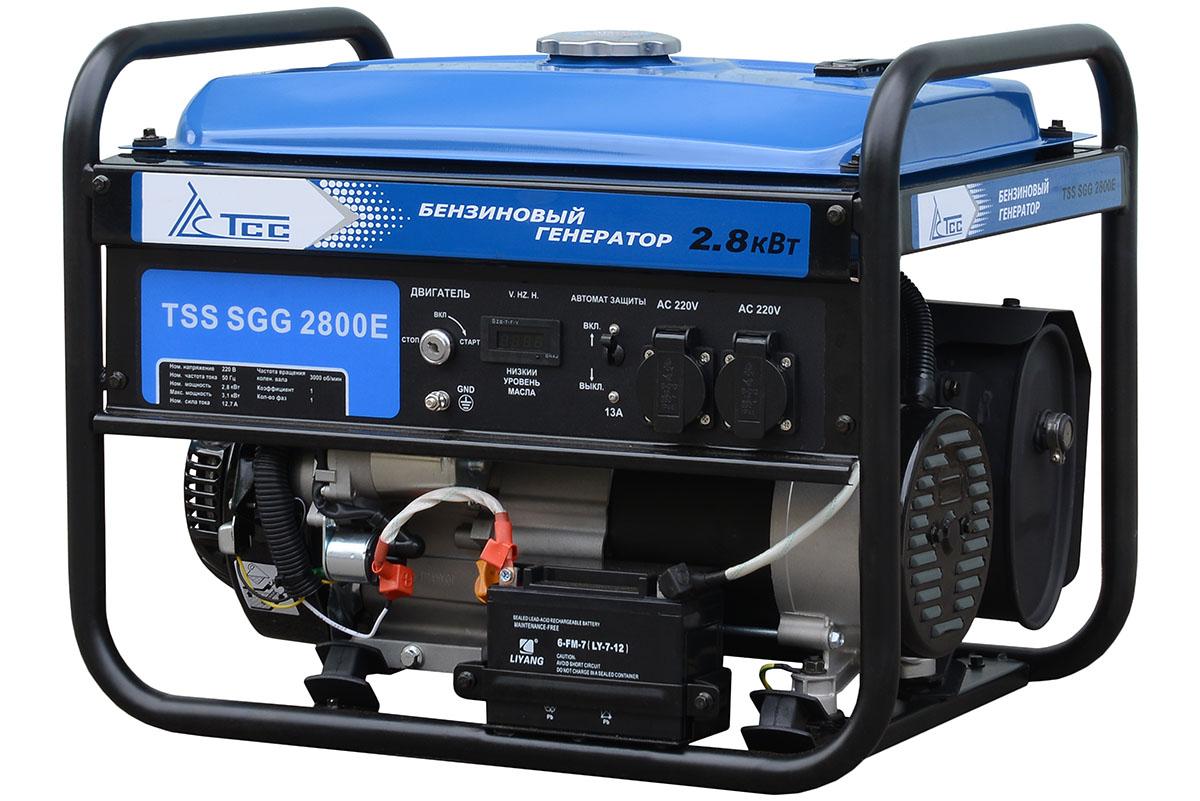 Бензогенератор TSS SGG 2800E