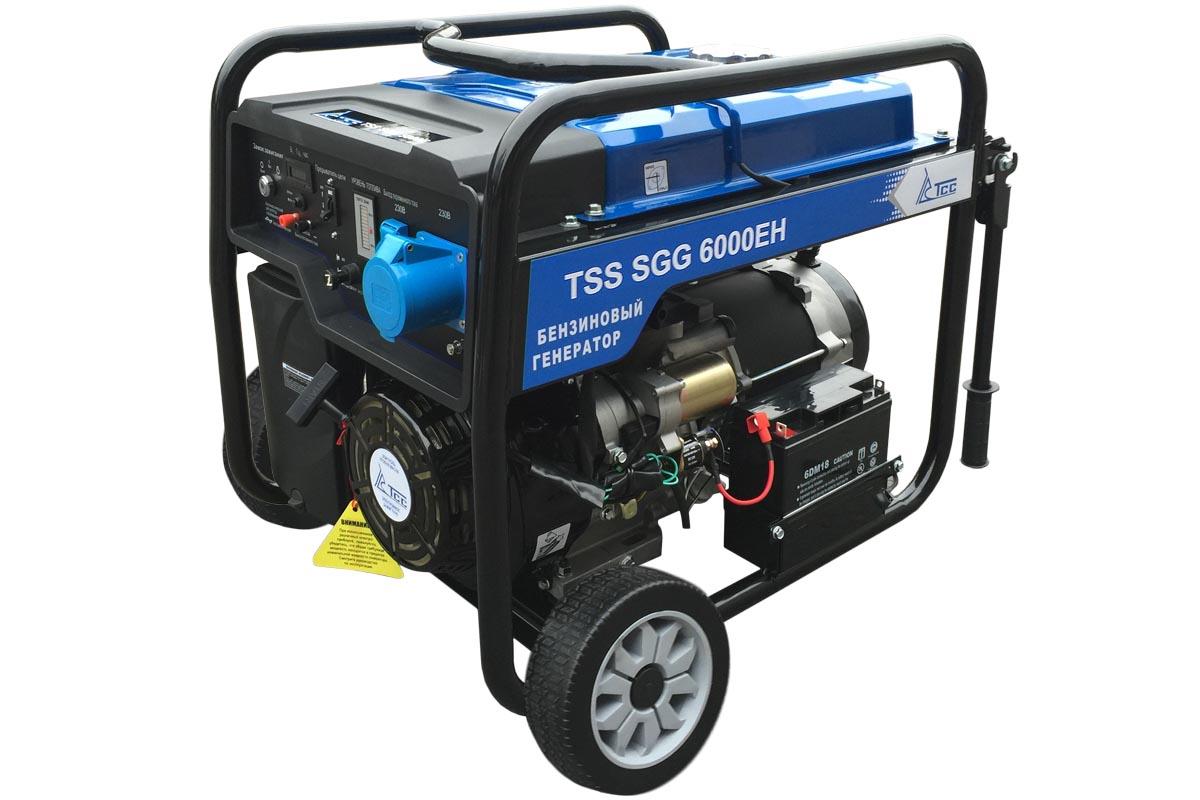 Бензогенератор TSS SGG 6000 EH