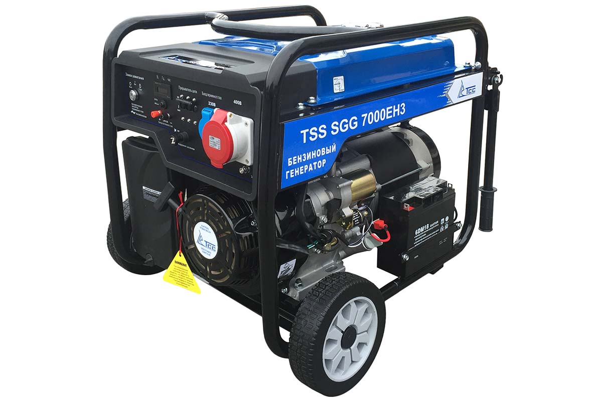 Бензогенератор TSS SGG 7000 EH3