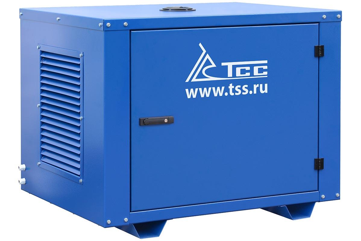 Бензогенератор TSS-SGG-7500Е в кожухе МК-1 2