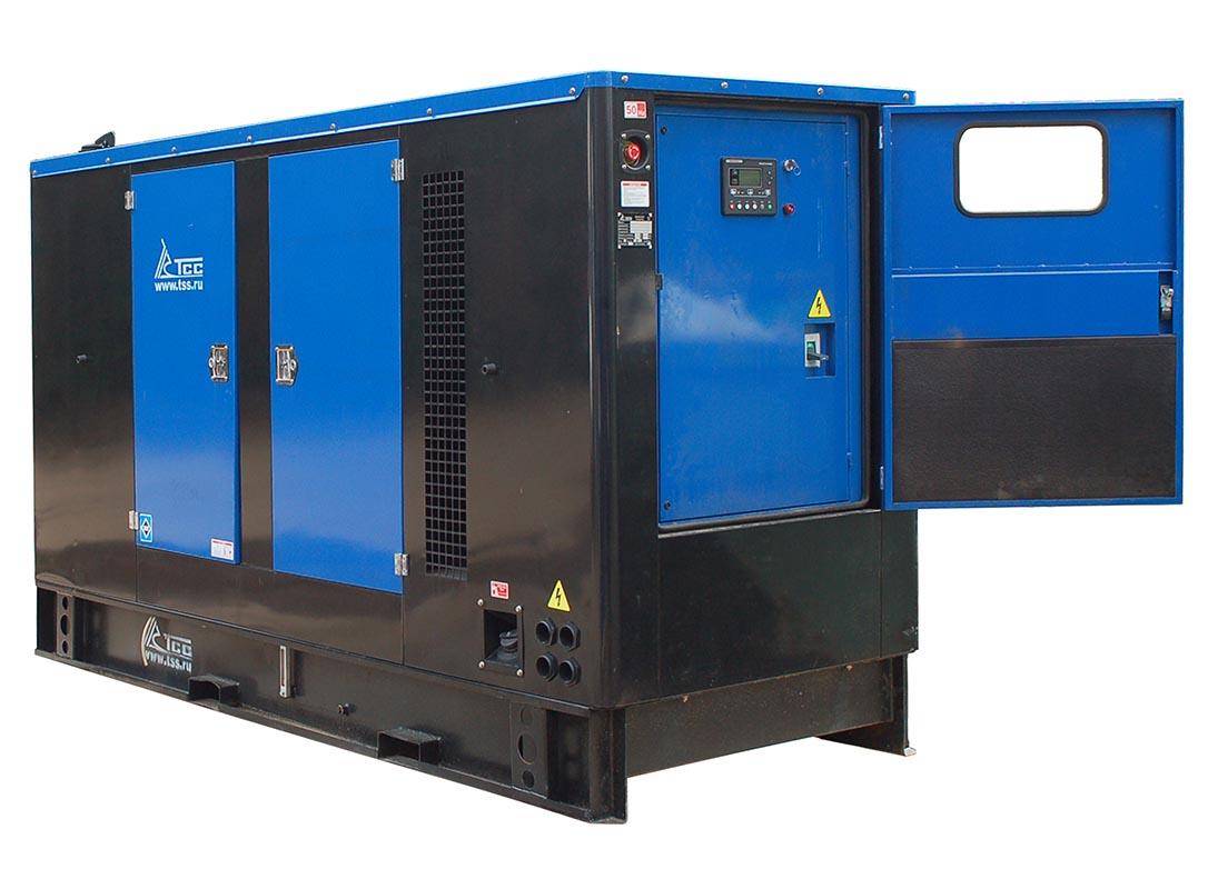Дизельный генератор ТСС АД-100С-Т400-1РКМ11 в шумозащитном кожухе 2
