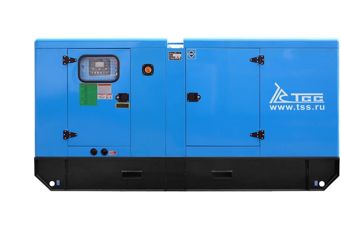 Дизельный генератор ТСС АД-120С-Т400-1РКМ11 в шумозащитном кожухе 2