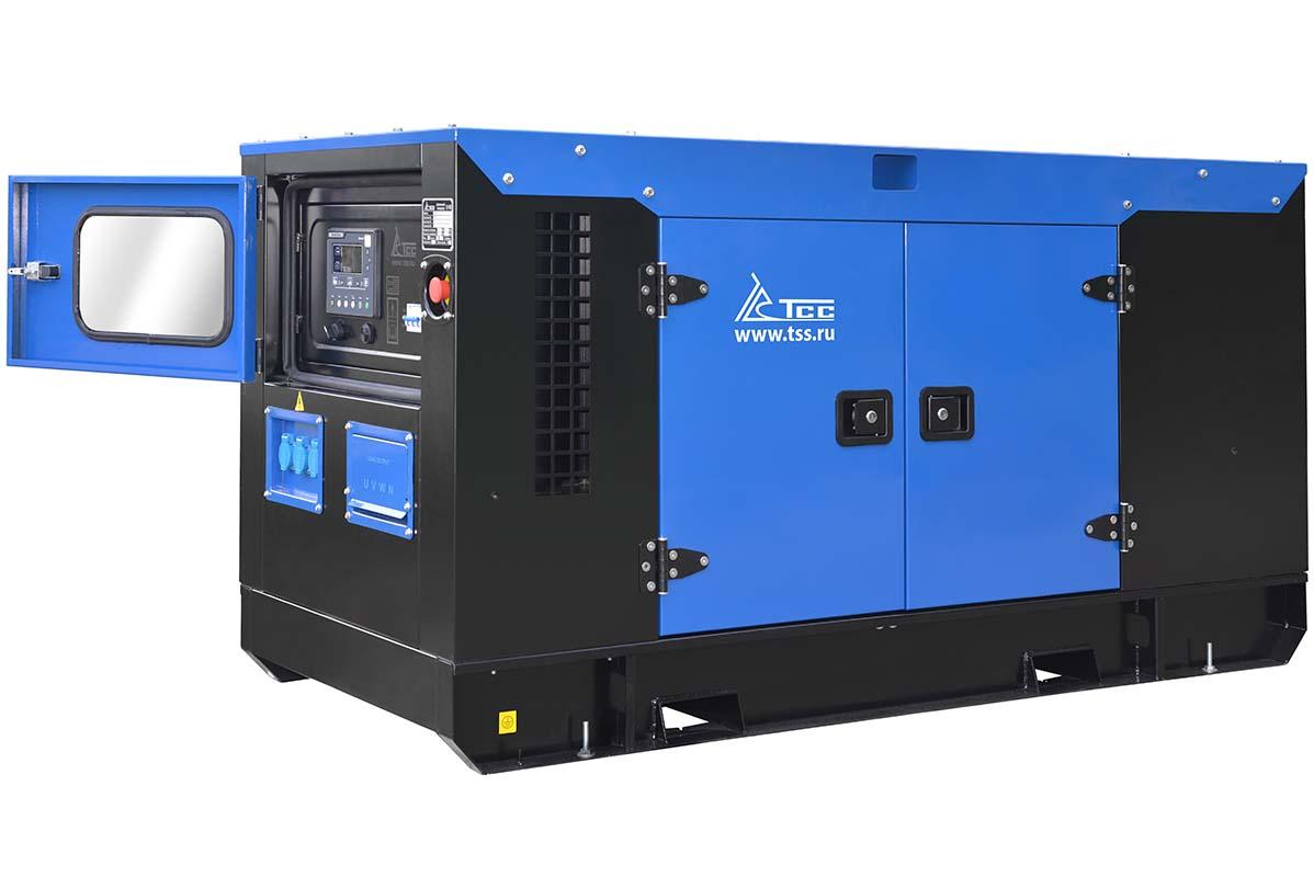 Дизельный генератор ТСС АД-15С-Т400-1РКМ7 в шумозащитном кожухе 2