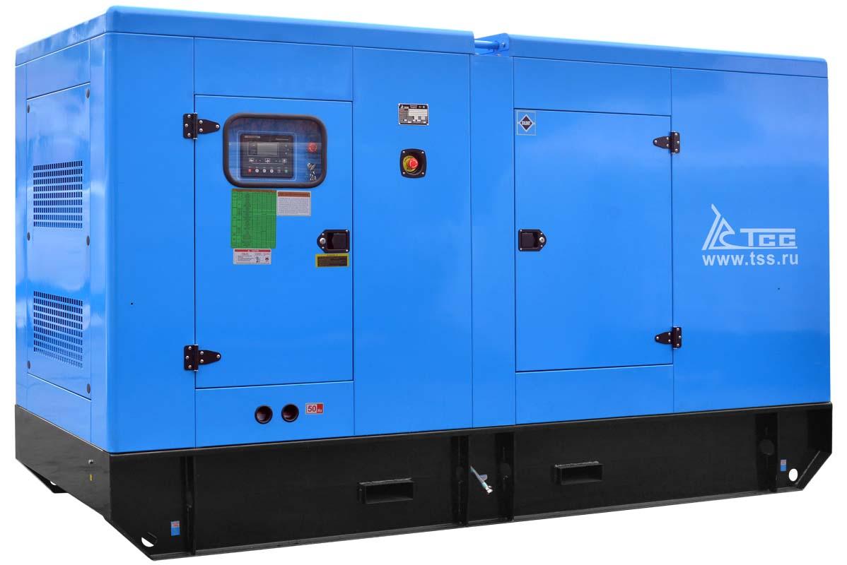 Дизельный генератор ТСС АД-160С-Т400-1РКМ5 в шумозащитном кожухе