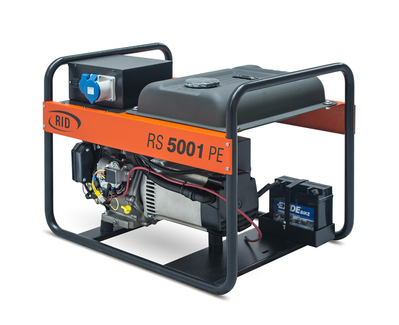 Бензиновый генератор RS 5001 PE