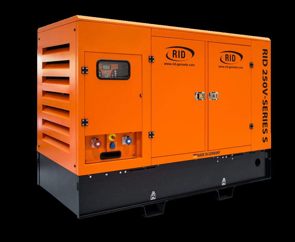 Дизельный генератор RID 250 V-SERIES S