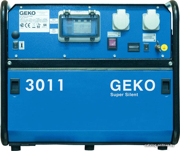Бензиновый генератор 3011 E-AA/HEBA SS