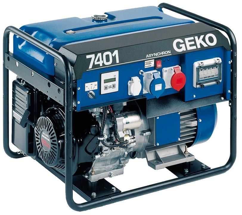 Бензиновый генератор 7401 E-AA/HEBA