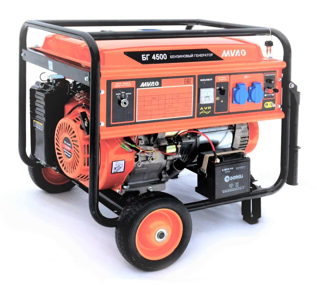 Бензиновый генератор Mvae БГ 4500