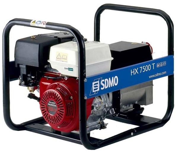 Бензиновый генератор Sdmo HX 7500T