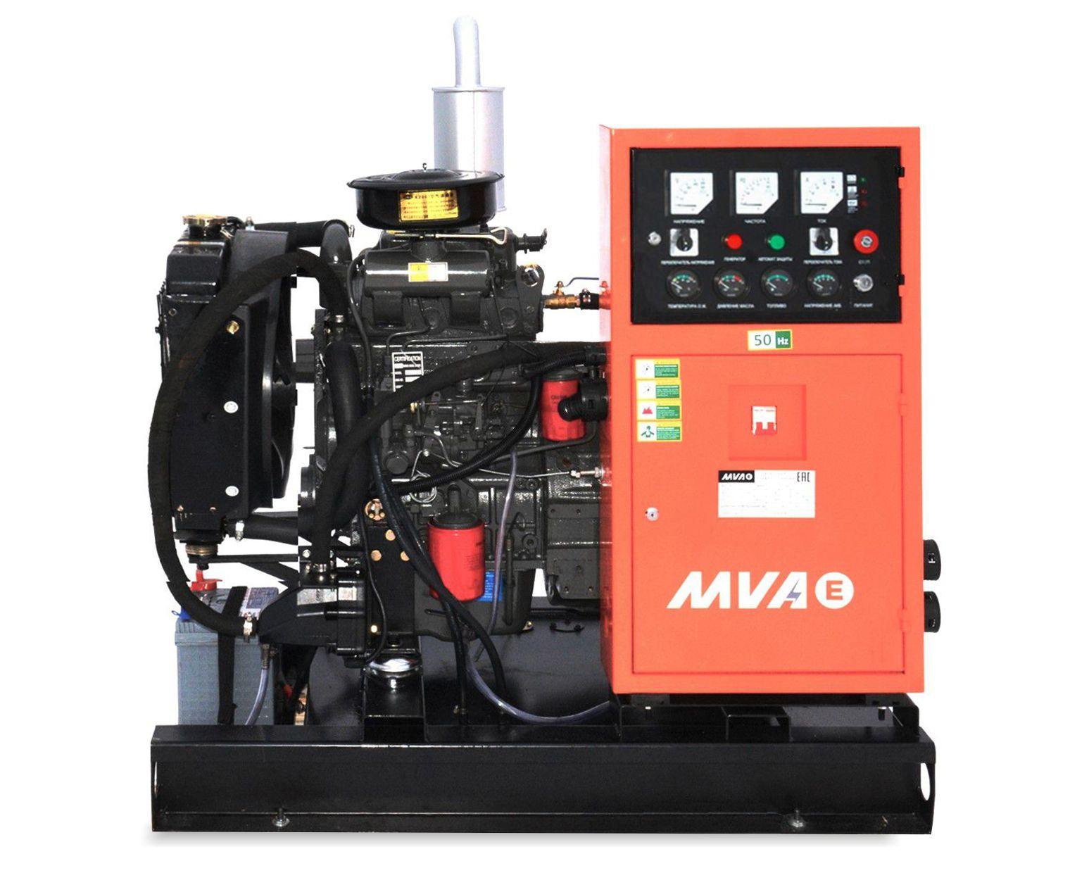 Дизель-генератор Mvae АД-10-230-Р