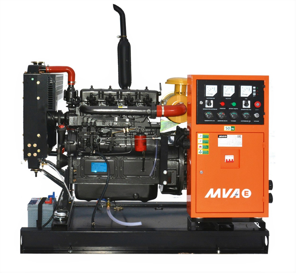Дизель-генератор Mvae АД-16-400-Р