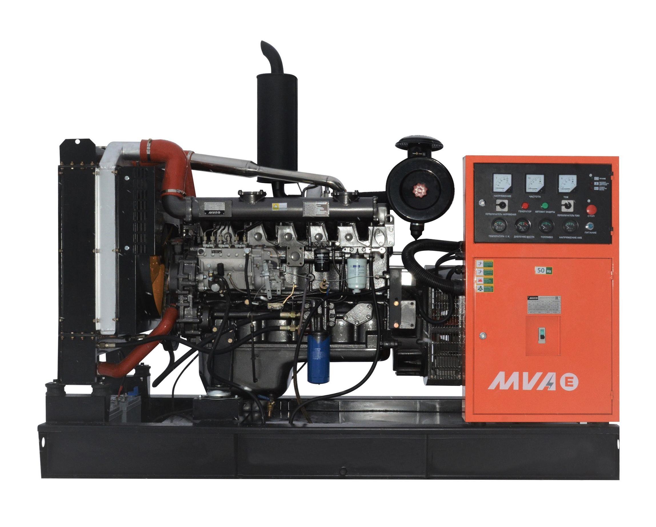 Дизель-генератор Mvae АД-200-400-Р