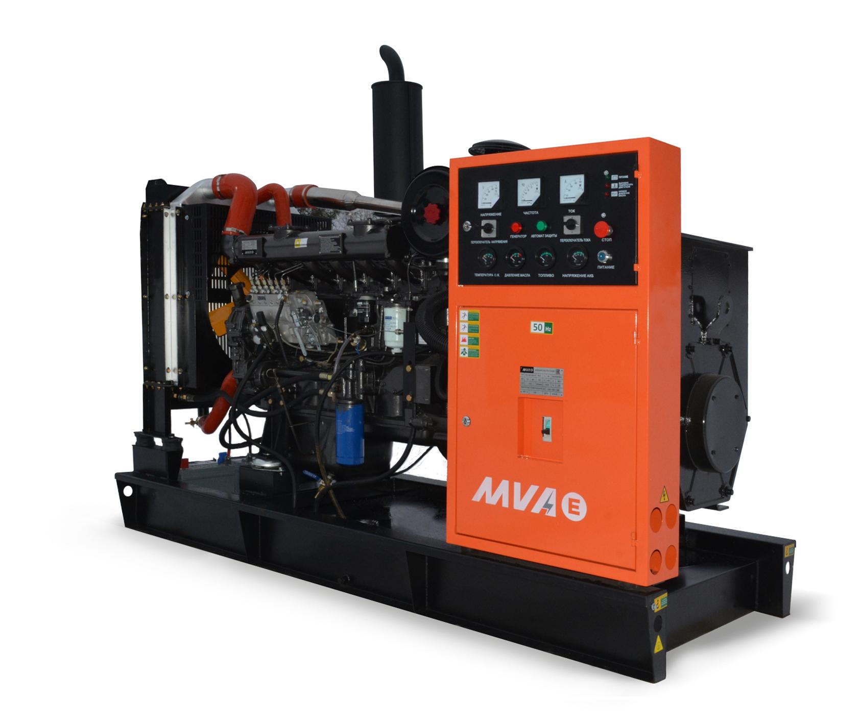 Дизель-генератор Mvae АД-240-400-Р