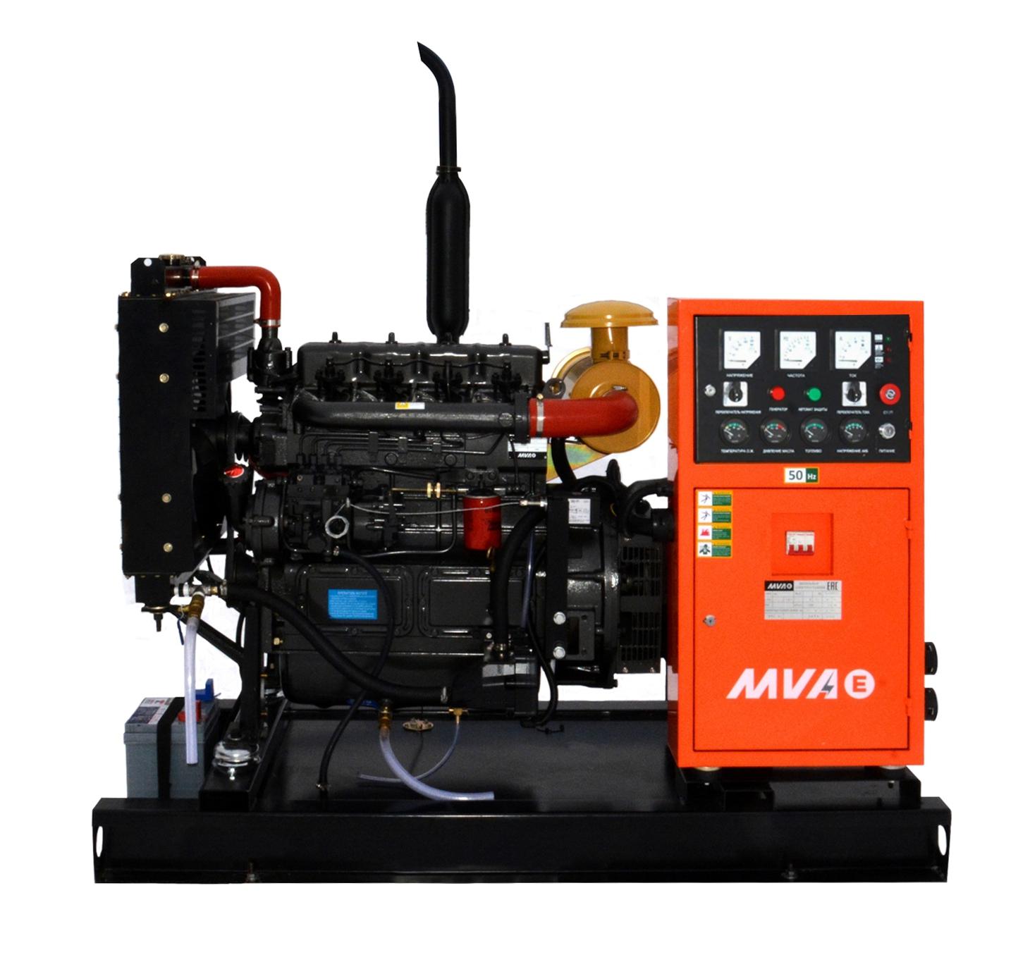 Дизель-генератор Mvae АД-25-230-АР