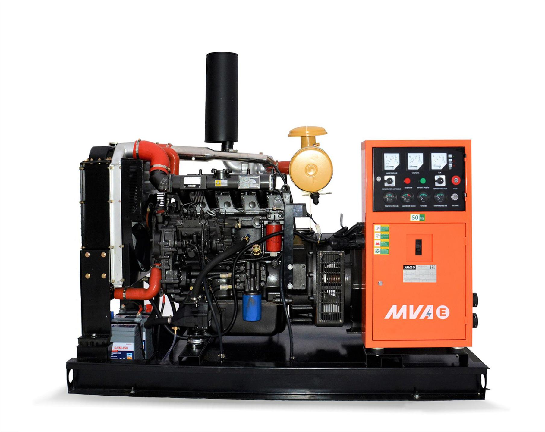 Дизель-генератор Mvae АД-60-400-Р