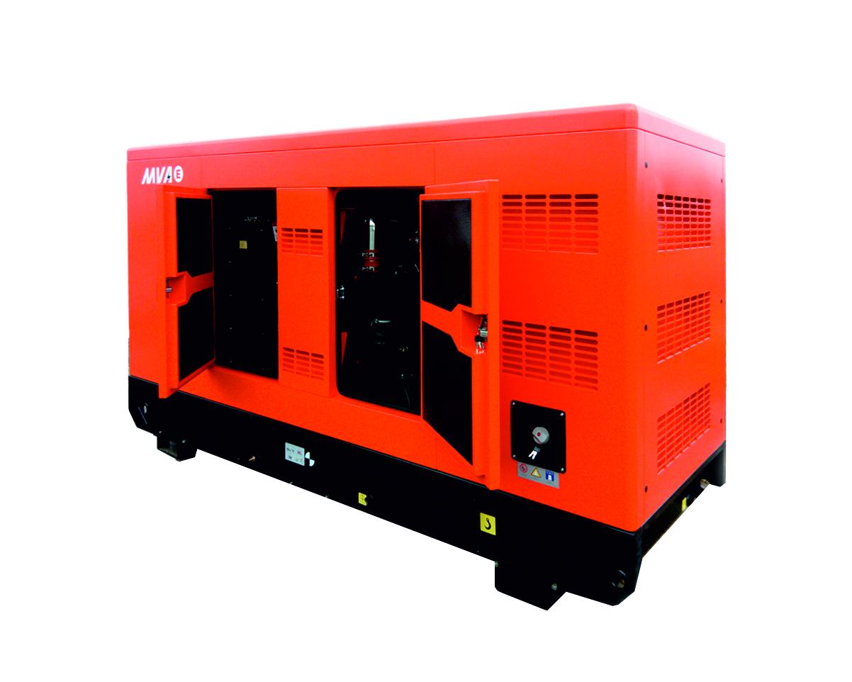 Дизель-генератор в шумозащитном кожухе Mvae АД-110-400-CK