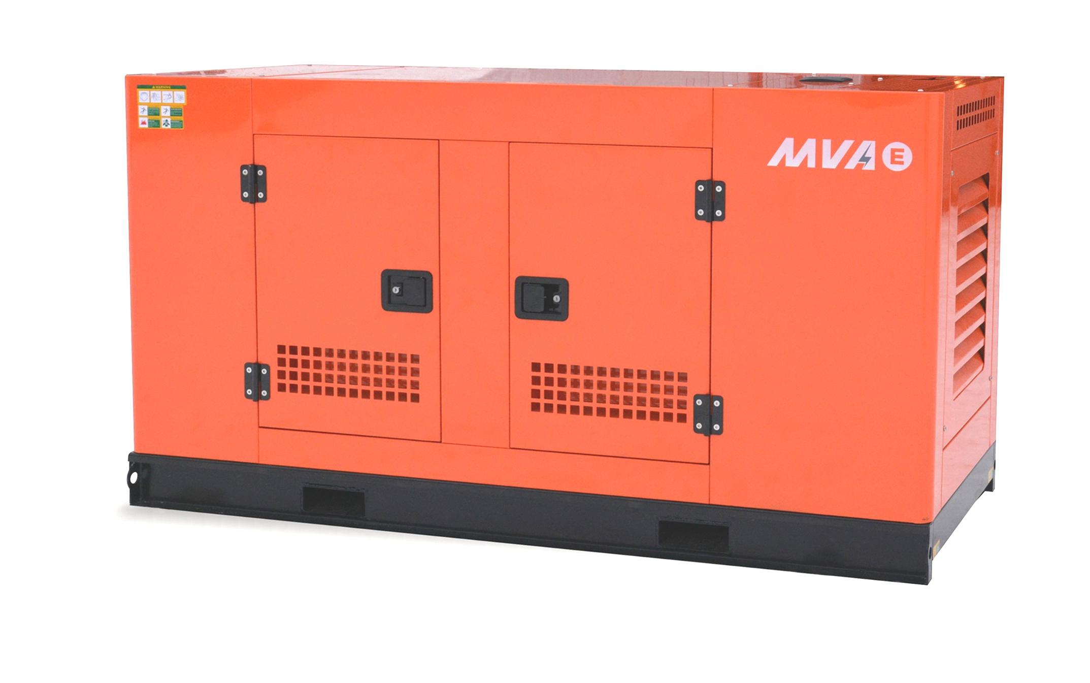 Дизель-генератор в шумозащитном кожухе Mvae АД-20-230-РК