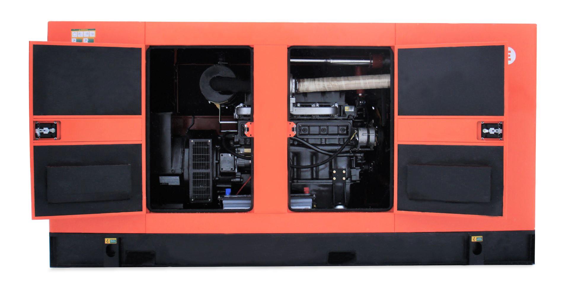 Дизель-генератор в шумозащитном кожухе Mvae АД-260-400-АРК