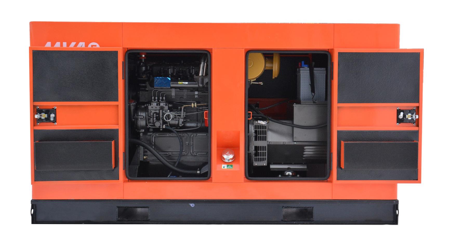 Дизель-генератор в шумозащитном кожухе Mvae АД-40-400-РК