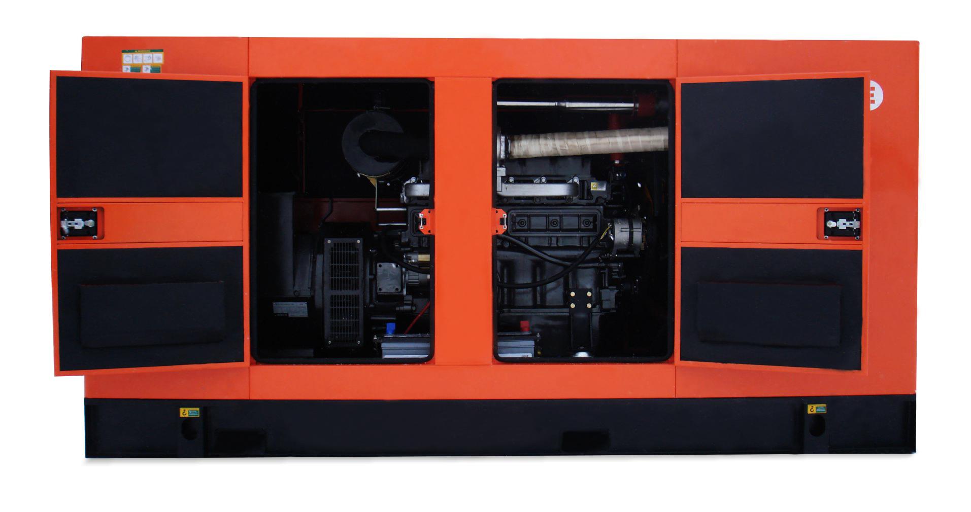 Дизель-генератор в шумозащитном кожухе Mvae АД-80-400-АРК