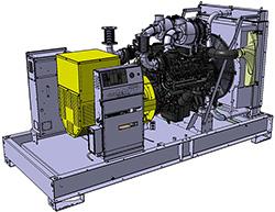 Генераторная установка D550