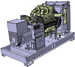 Генераторная установка D630