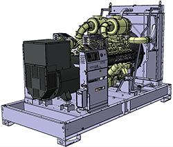 Генераторная установка D700