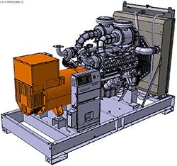 Генераторная установка D830