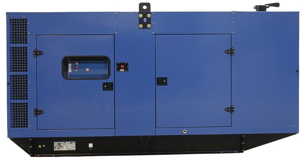 Генераторная установка в шумозащитном кожухе D275 Silent