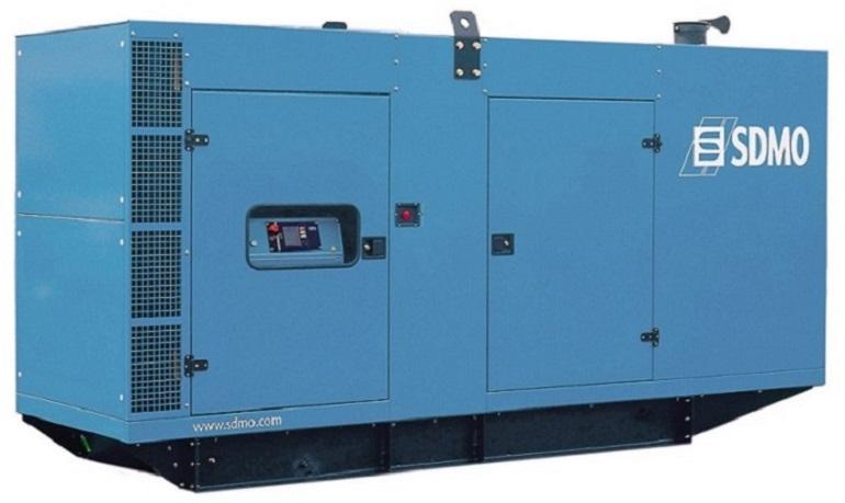 Генераторная установка в шумозащитном кожухе D330 Silent