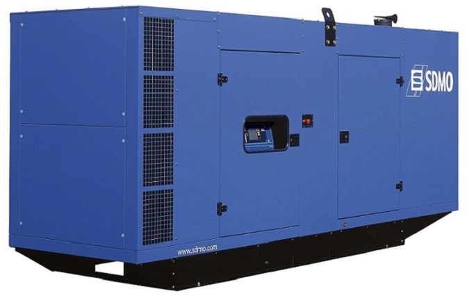Генераторная установка в шумозащитном кожухе D550 Silent