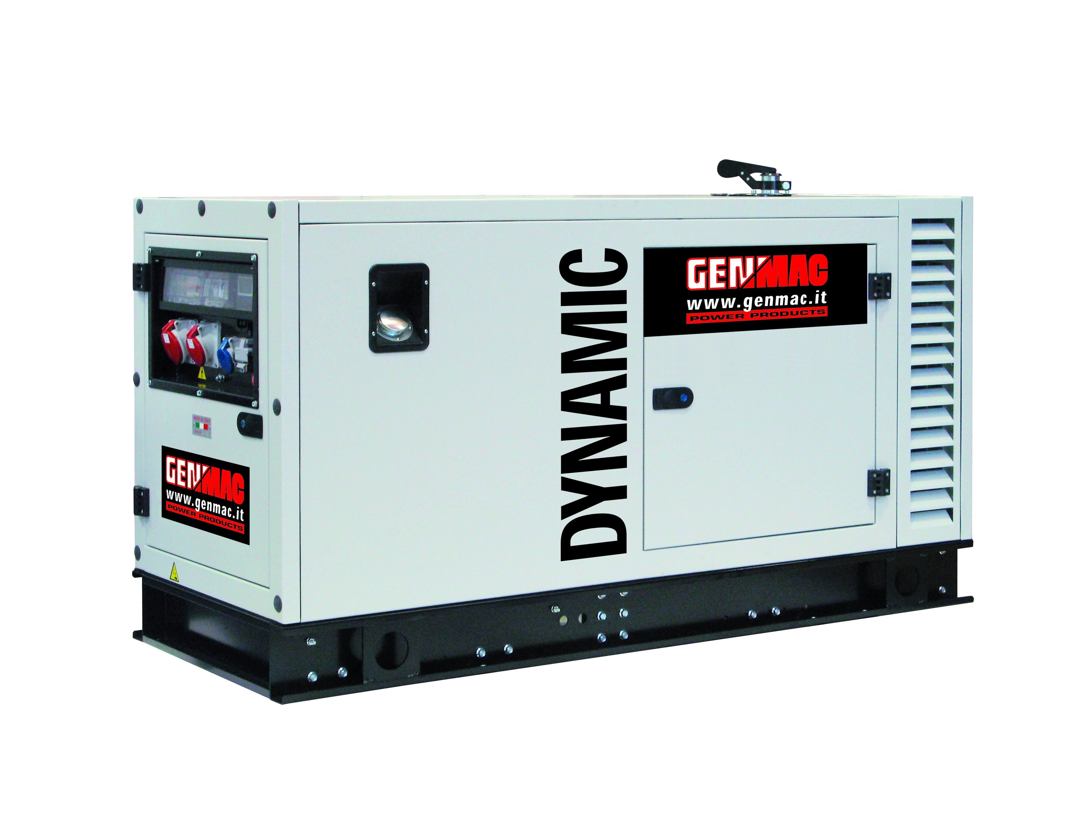 Генераторная установка в шумозащитном кожухе DYNAMIC G15PS