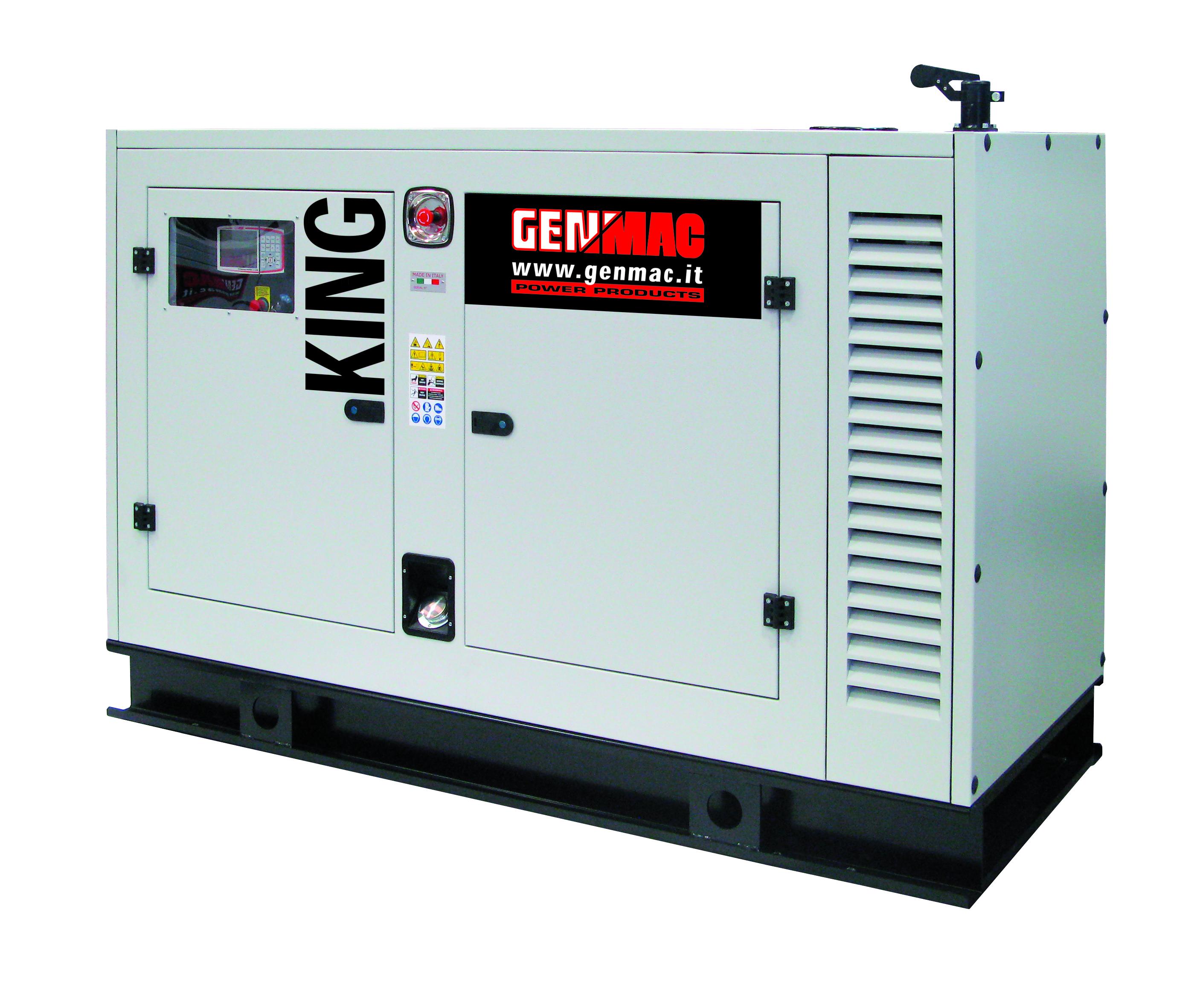 Генераторная установка в шумозащитном кожухе KING G60PS