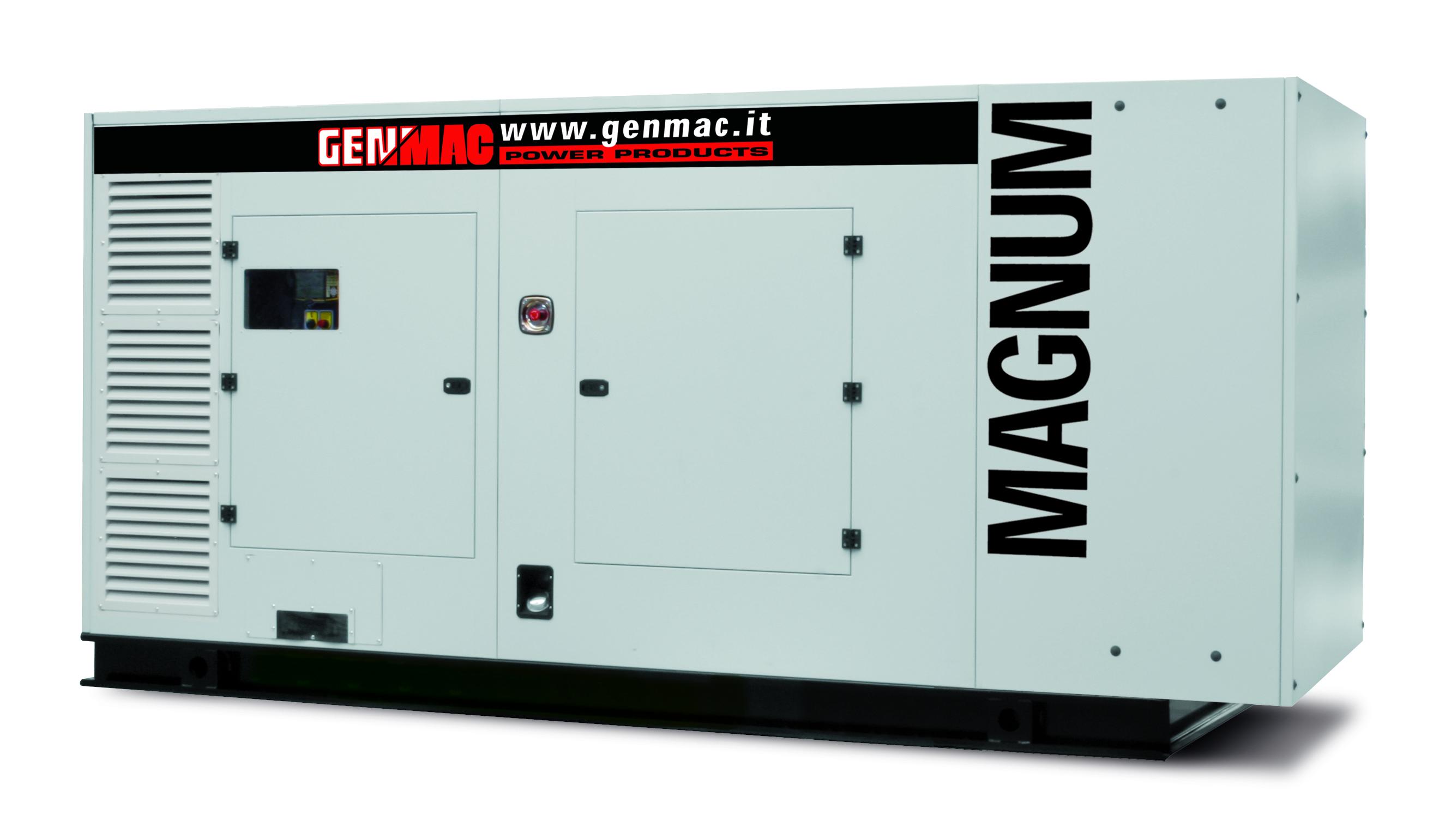 Генераторная установка в шумозащитном кожухе MAGNUM G500PS