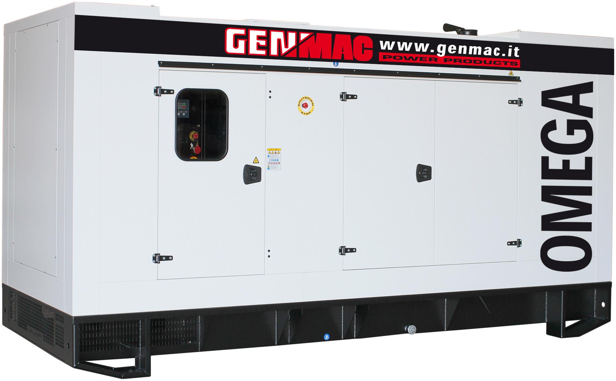 Генераторная установка в шумозащитном кожухе OMEGA G650PS