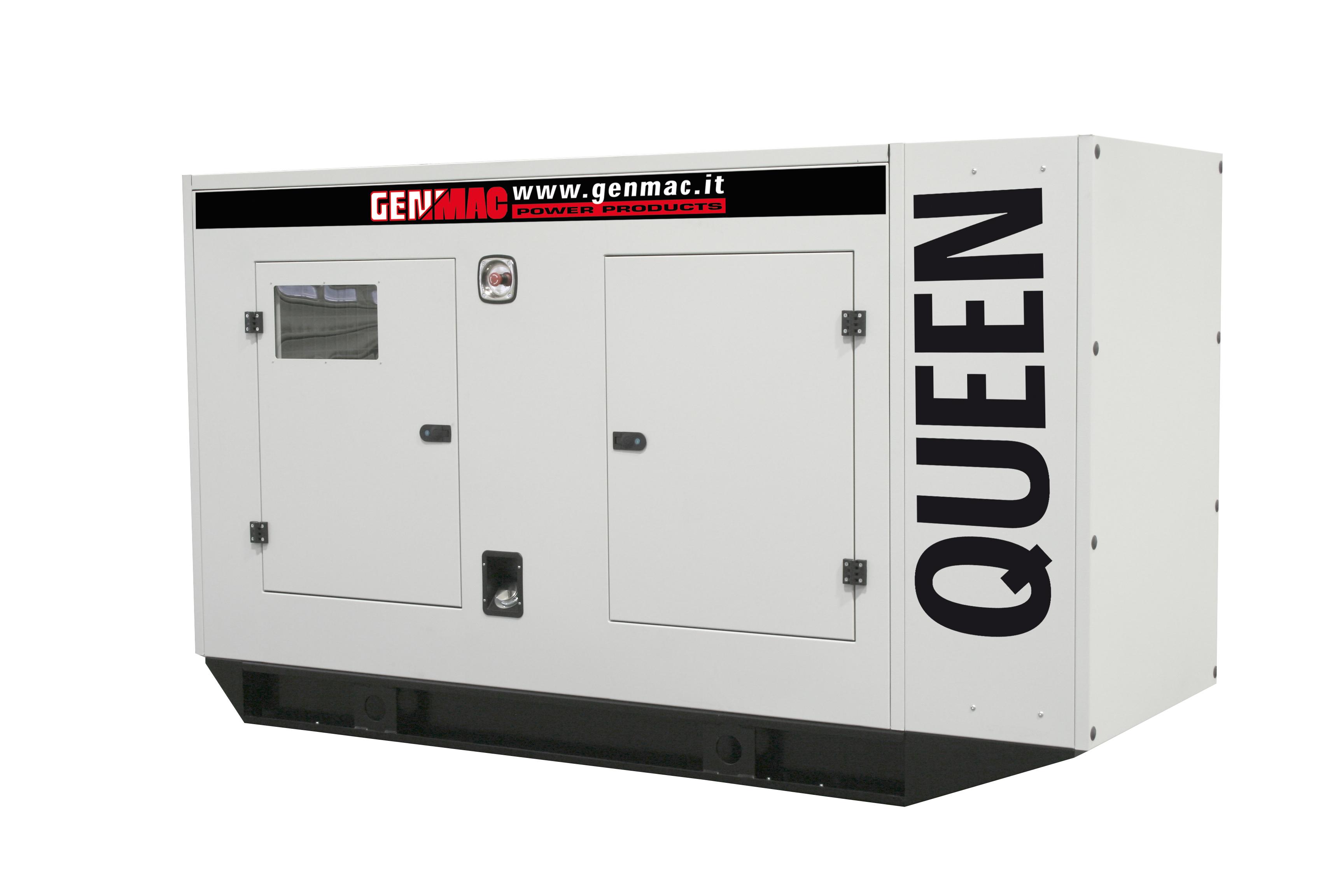 Генераторная установка в шумозащитном кожухе QUEEN G100PS