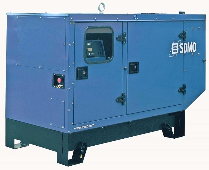 Генераторная установка в шумозащитном кожухе T44C3 Silent