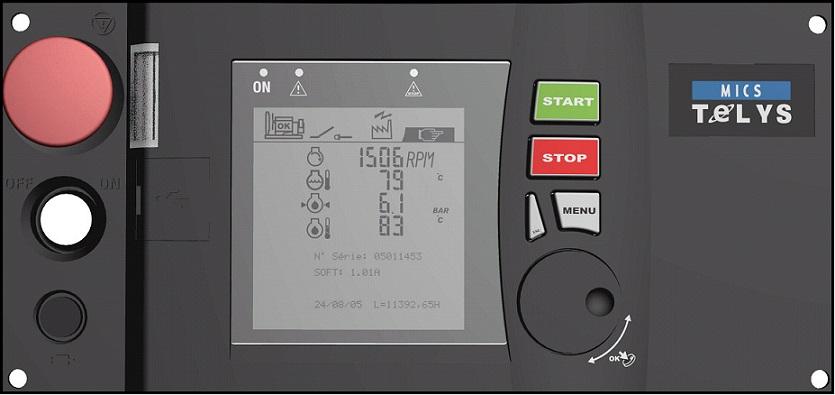 Генераторная установка в шумозащитном кожухе V500C2 Silent