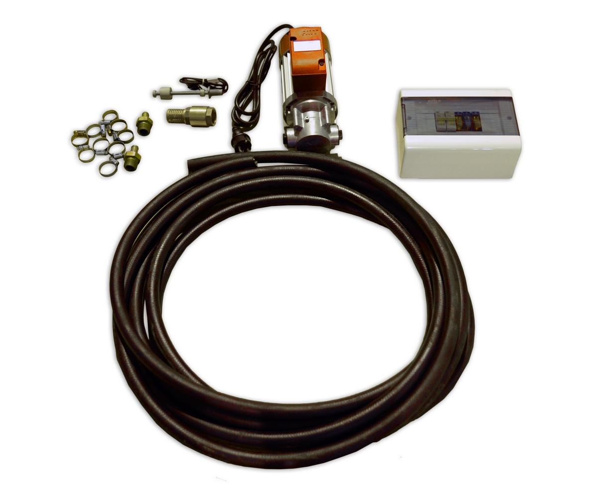Система автоматической подкачки дизельного топлива из резервного бака