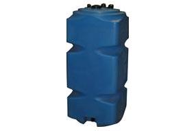 Бак топливный 500 л пластиковый (с обвязкой)